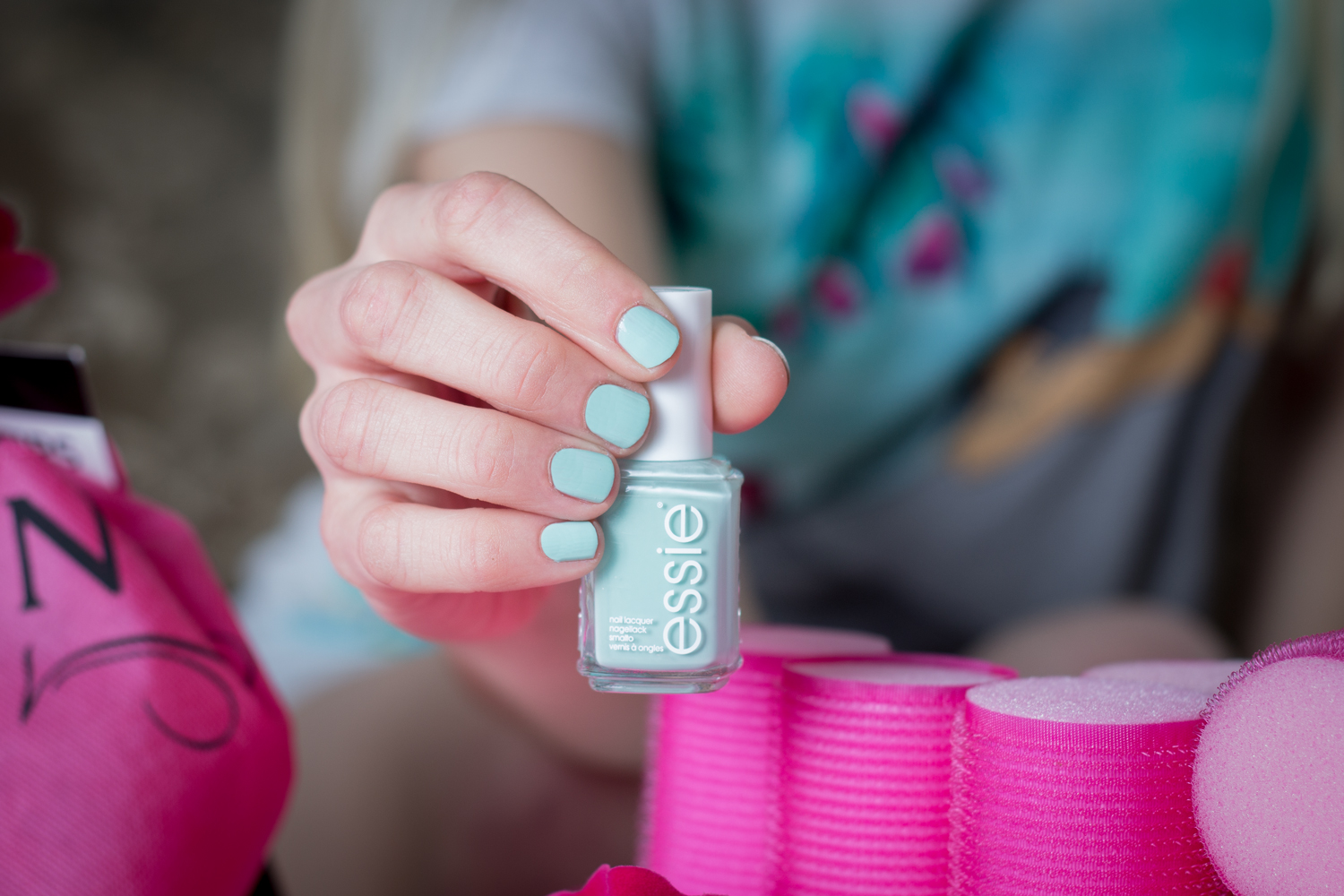 "Essie Nagellack ""mint candy apple"" // Essie nail polish ""mint candy apple"""