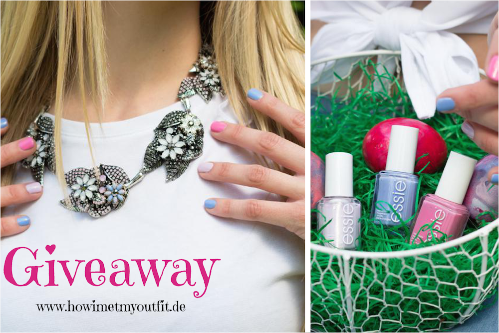 Giveaway: Zara necklace & Essie nailpolish II How I met my outfit