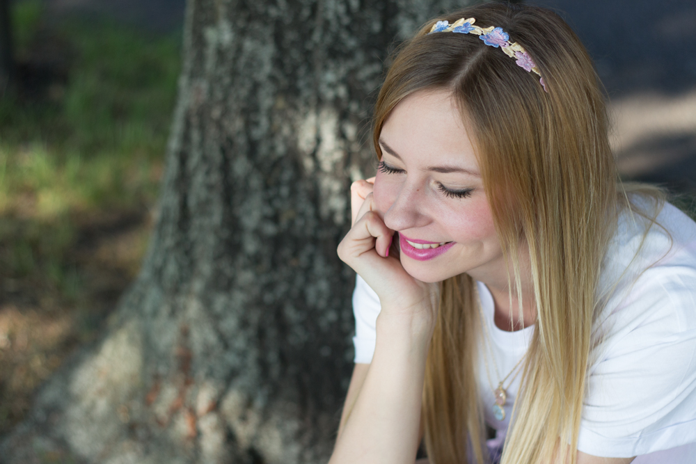 Haarband in Pastell Farben // hairband in pastel