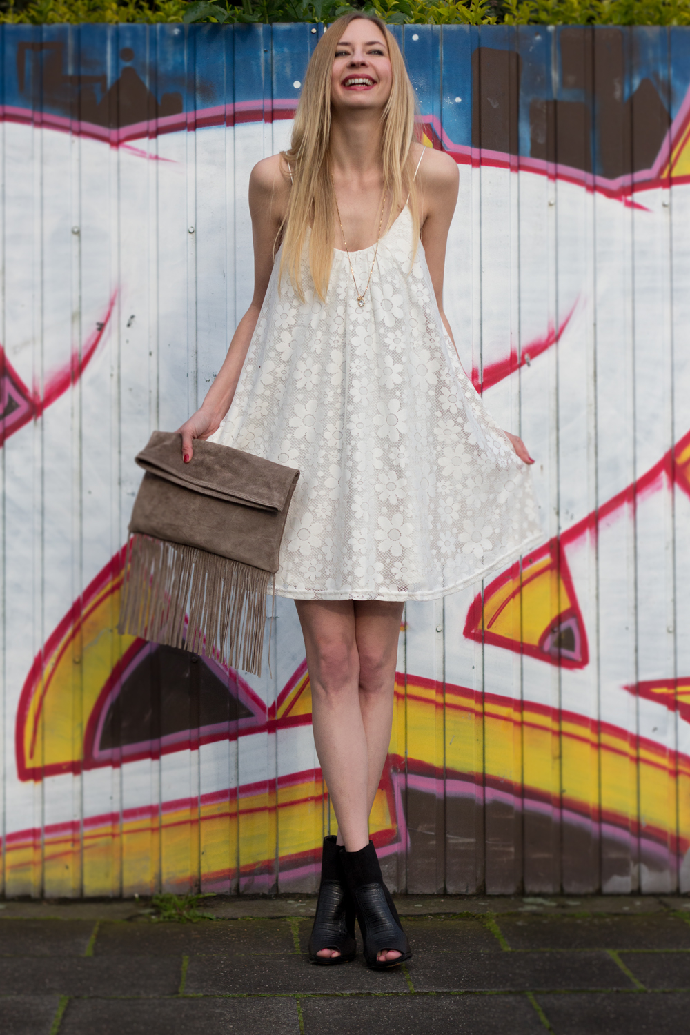 little white summer dress � how i met my outfit