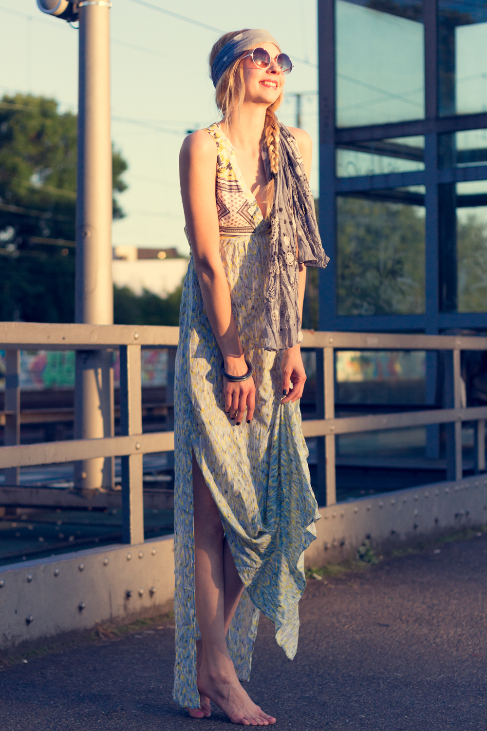 Hippie Chic Maxi Dresses: I wanna be a hippie.