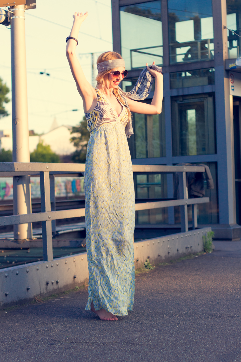 Hippie Chic Maxi Dresses: Do the hippie dance.