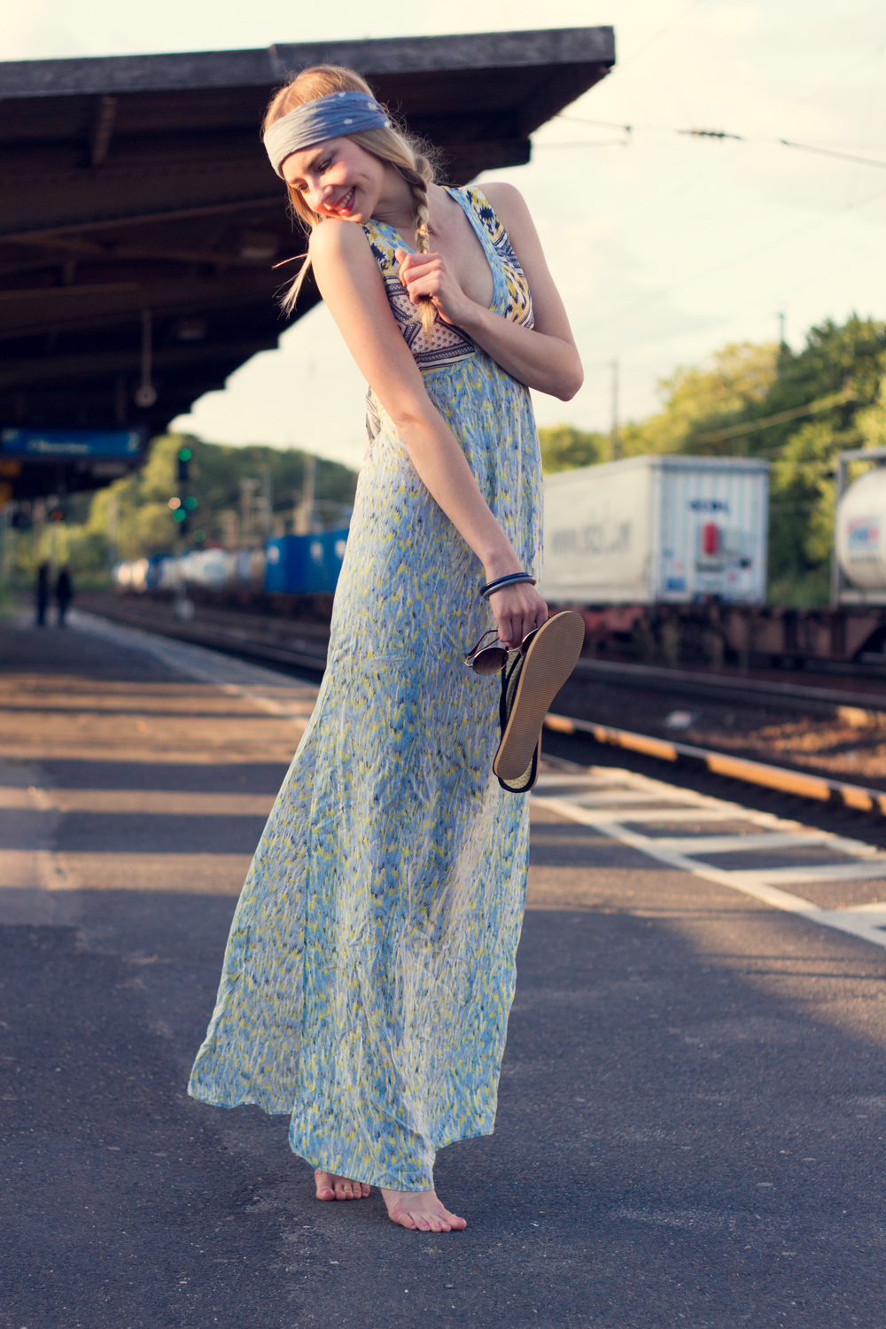 Hippie Chic Maxi Dresses: photos: Benedikt Napolowski