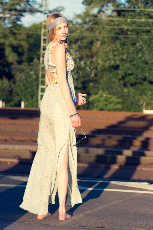 Hippie Chic Maxi Dresses: Hippie Chic Maxi Dress