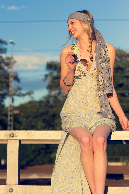 Hippie Chic Maxi Dresses: Happy. <3