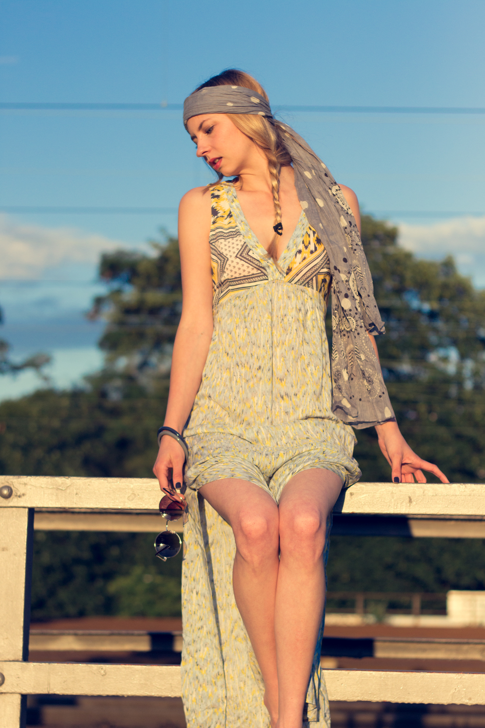 Hippie Chic Maxi Dresses: Den Sonnenuntergang genießen. // Enjoying the sundown.