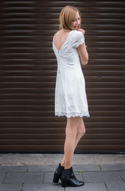 sheer & lace summer dress