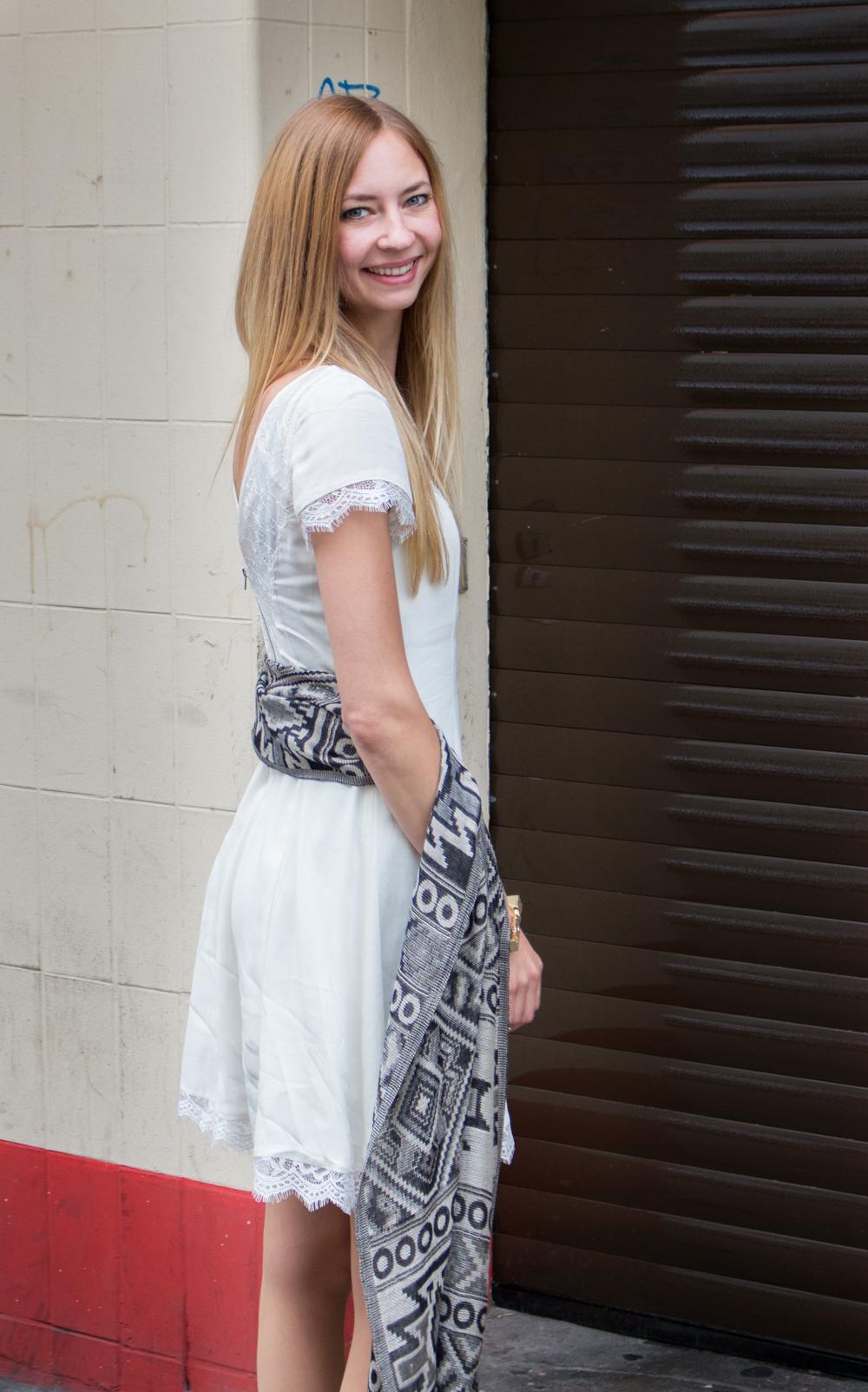 details: summer dress
