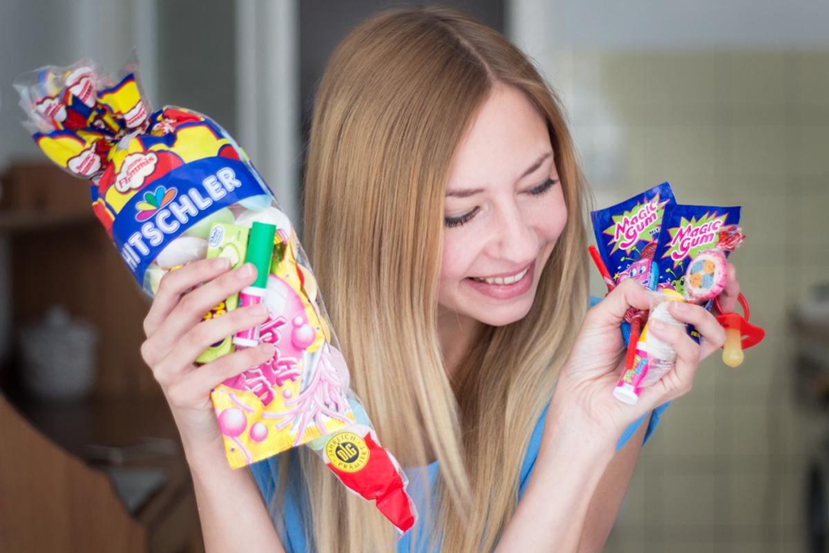 Childhood Sweets & #flashmob lipsticks II How I met my outfit