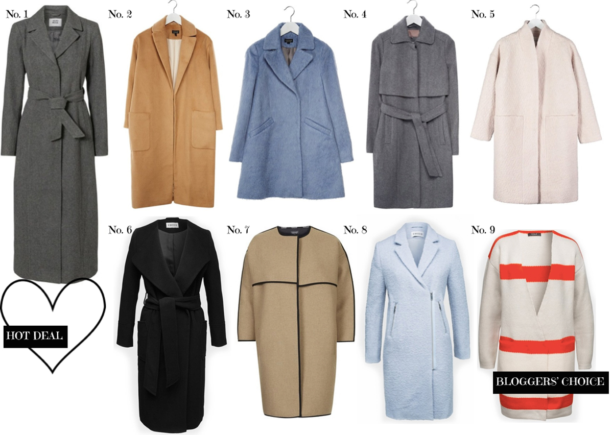 In love with... WOOL COATS II How I met my outfit