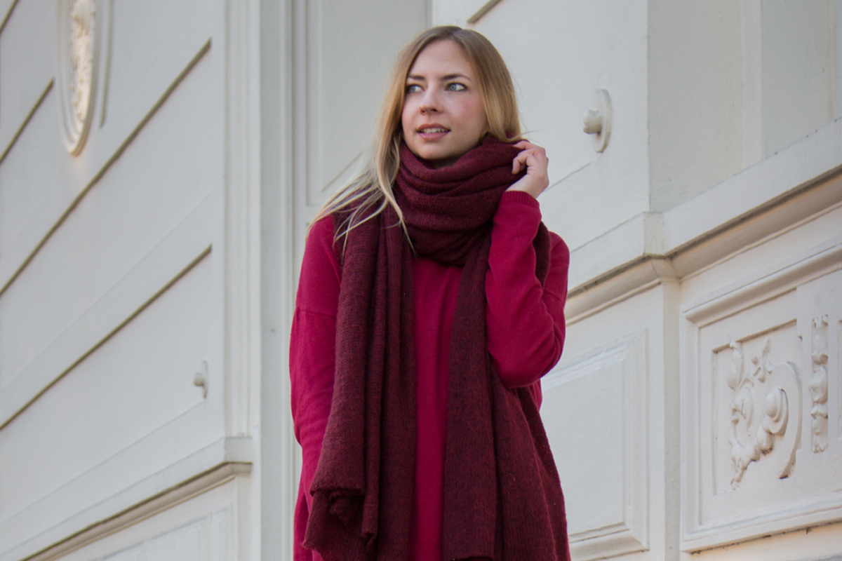 Shades of Red II How I met my outfit