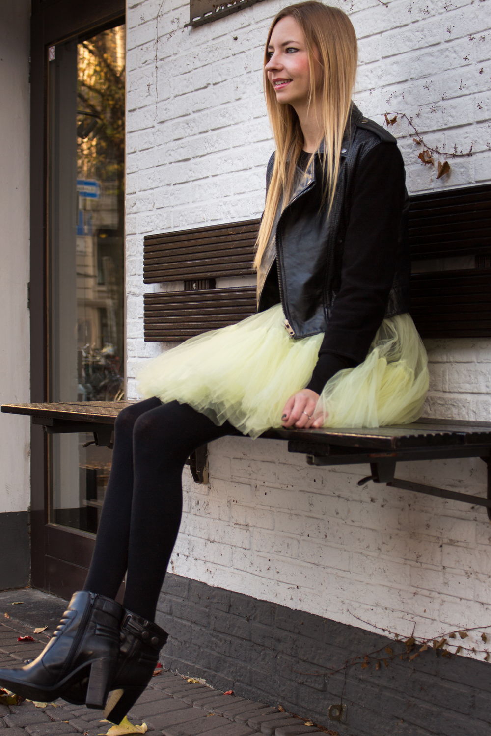 A little bit of Carrie: the tulle skirt