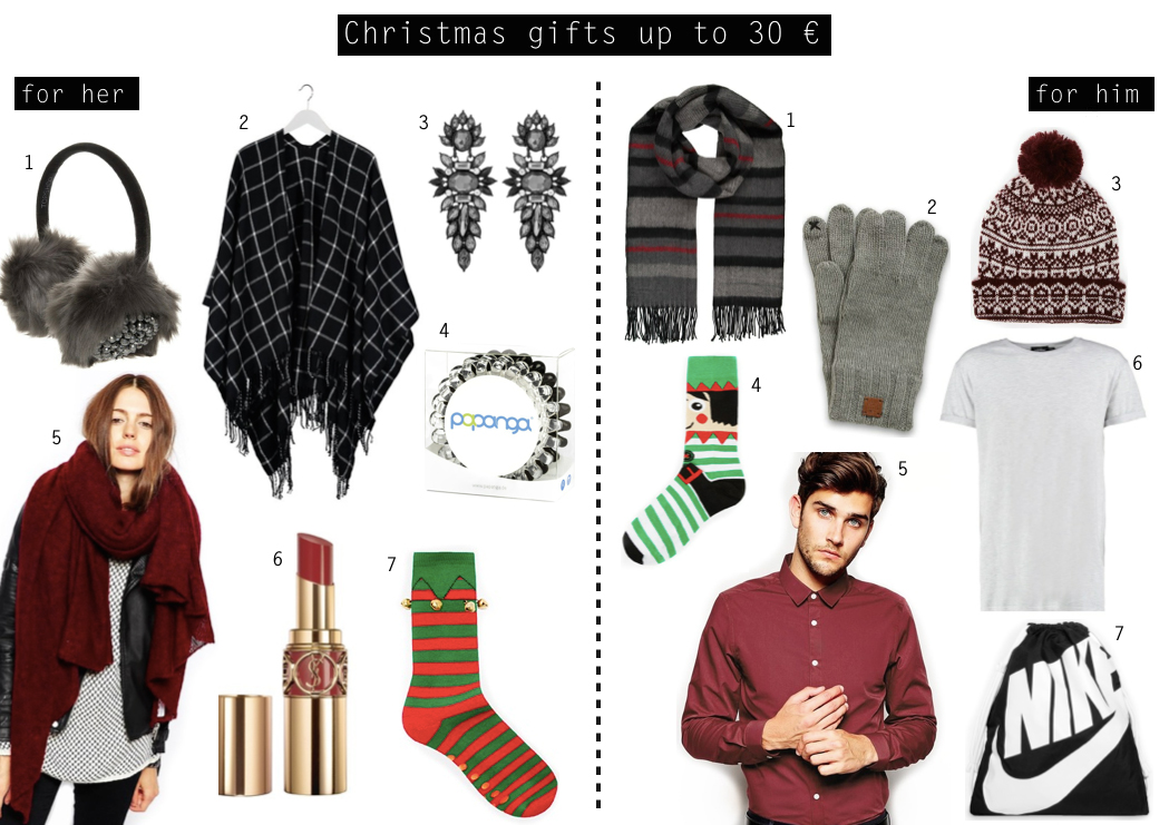Gift Ideas up to 30 € for Him and Her
