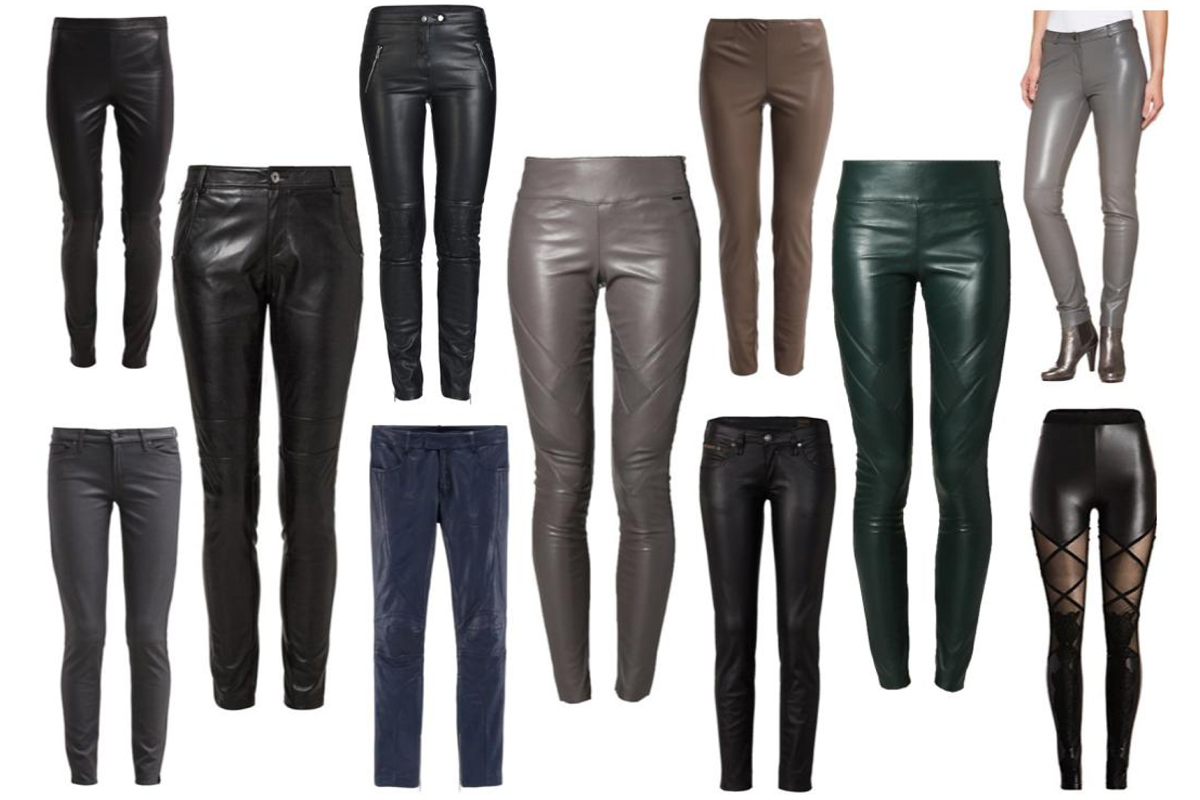 In love with... (faux) leather pants! by How I met my outfit