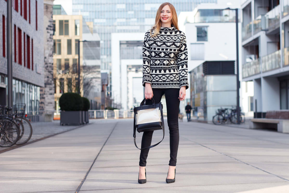 Black & White II How I met my outfit by Dana Lohmüller