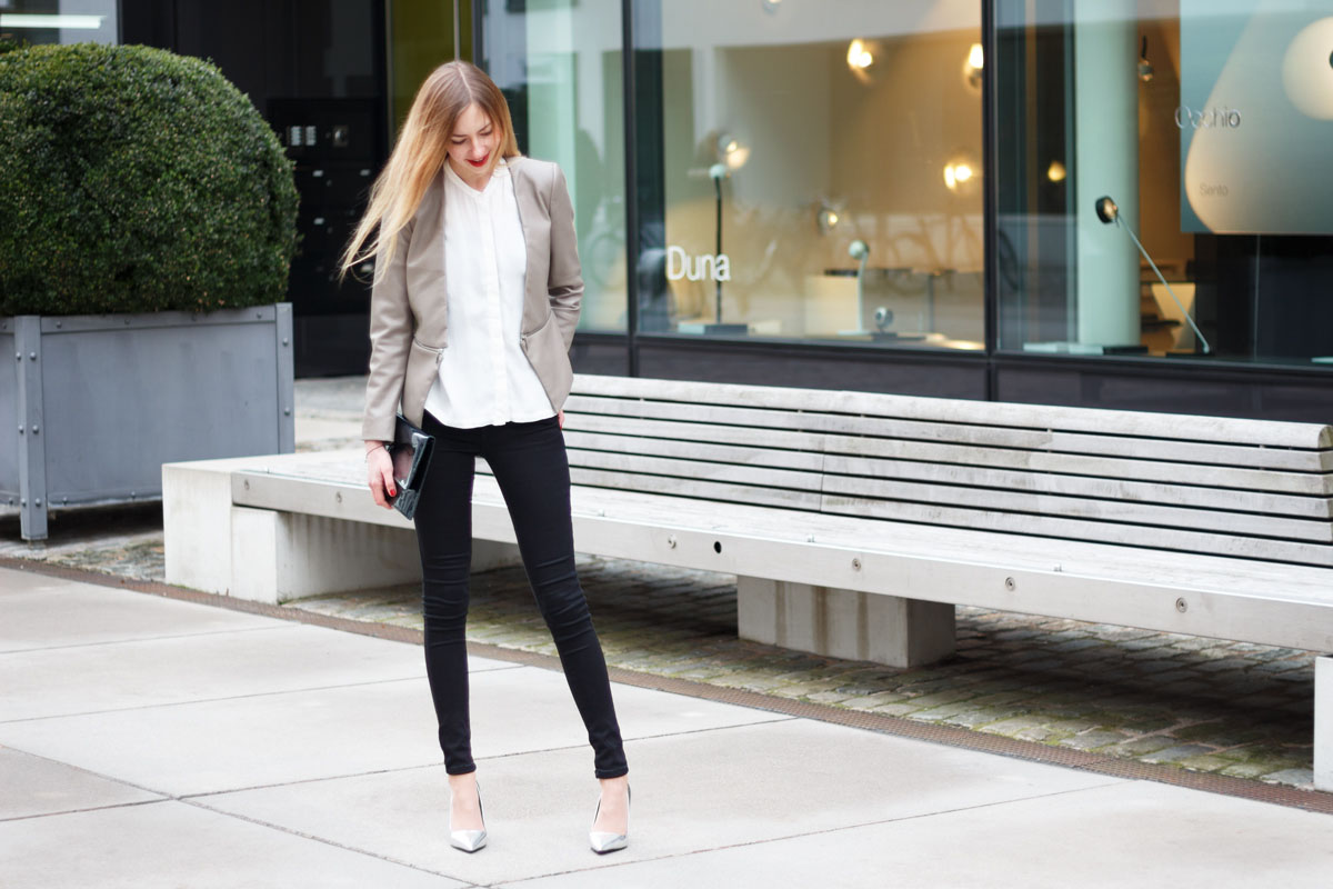 Let's get serious - Casual Business Chic II How I met my outfit Fashion Blog