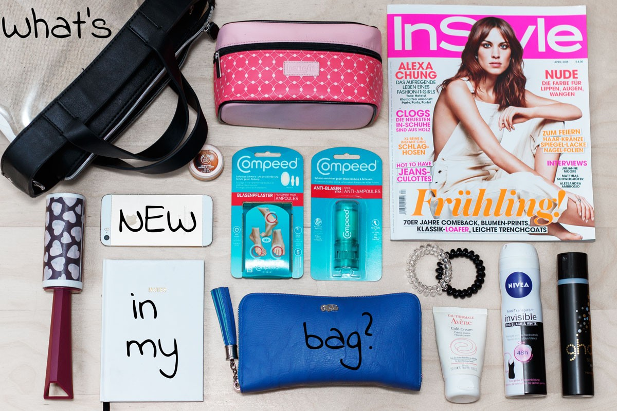 What's NEW in my bag? Compeed GIVEAWAY!