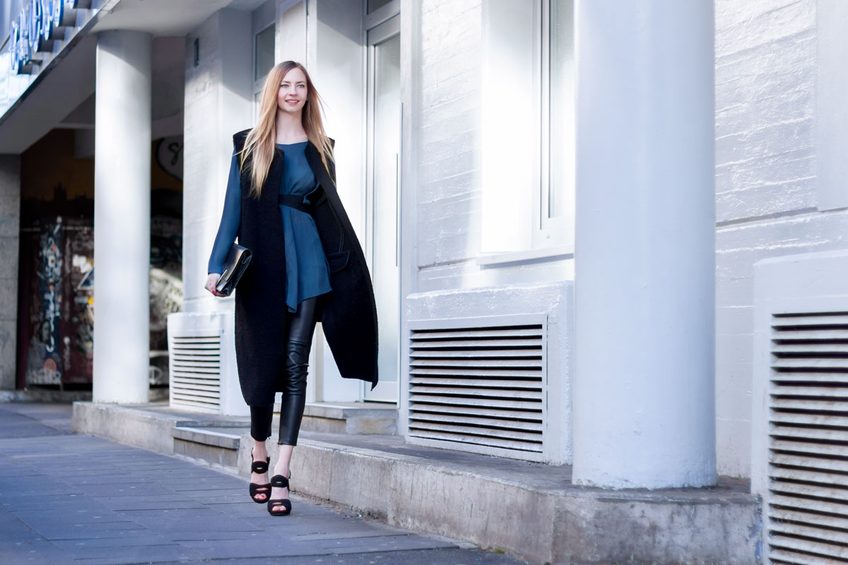 Leather Pants Part II - How I met my outfit