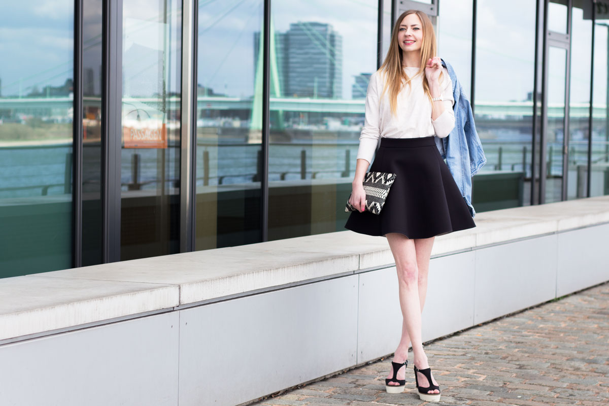 It's time for neoprene, baby! II How I met my outfit I