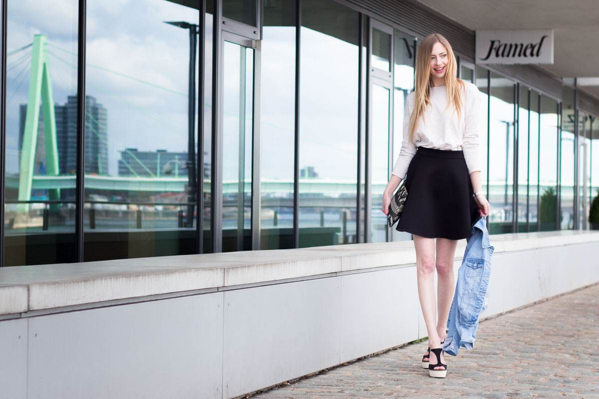 It's time for neoprene, baby! II How I met my outfit