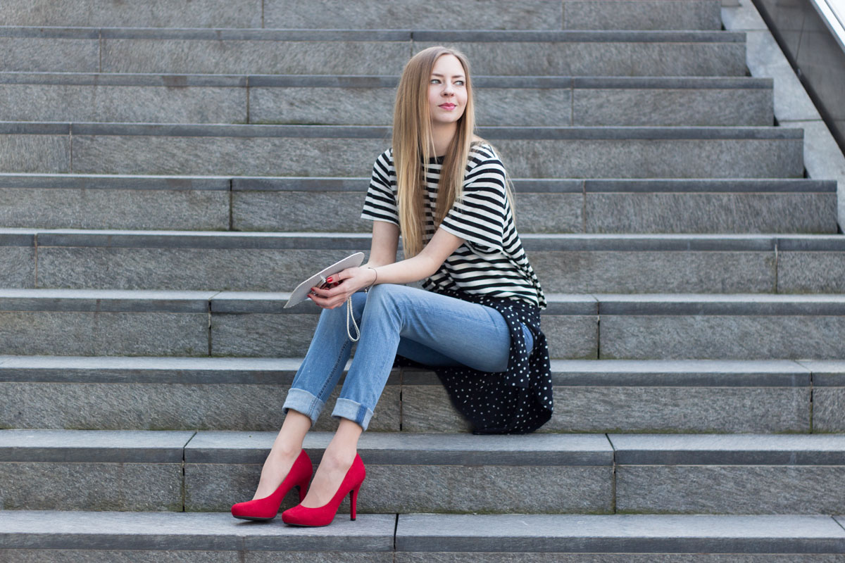 Put on your red shoes! II How I met my outfit