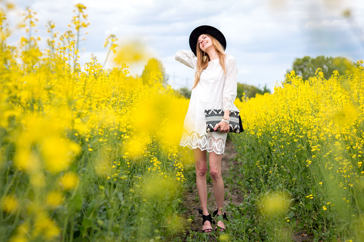 White Boho Dress & Great Escape // How I met my outfit // photos: Benedikt Napolowski
