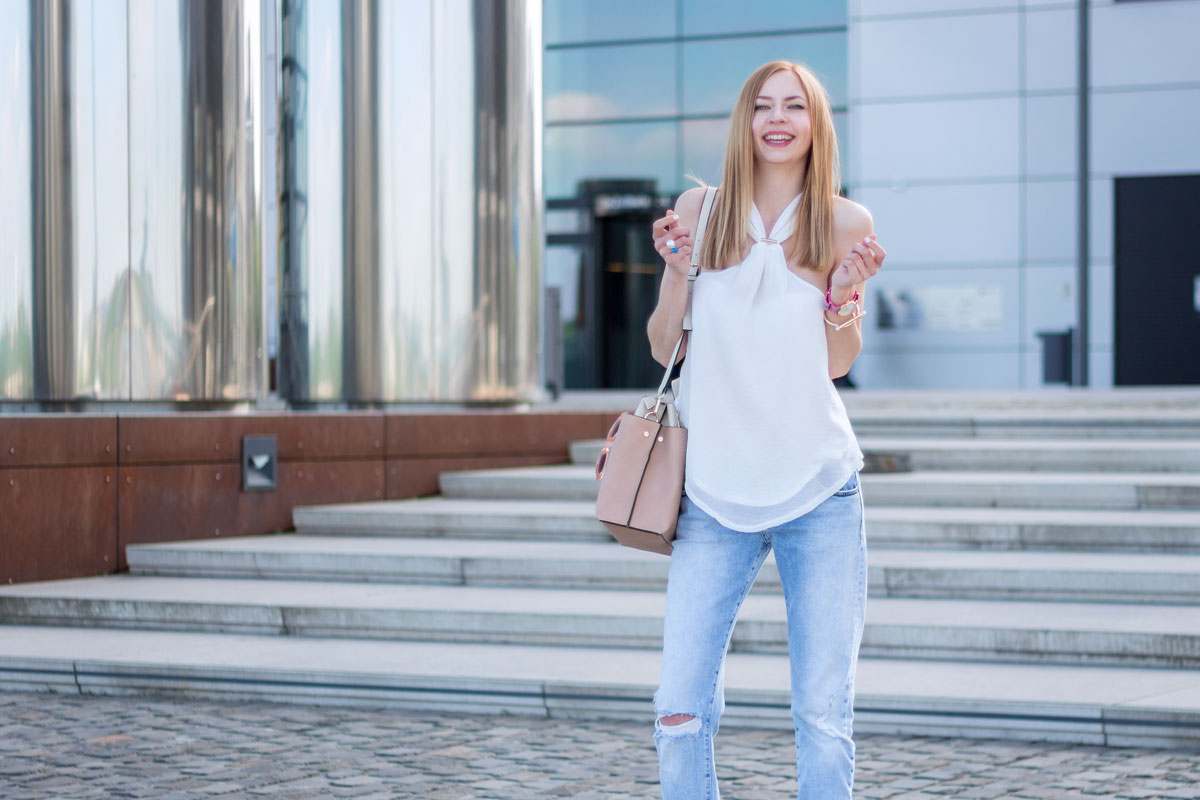How to wear boyfriend jeans II How I met my outfit