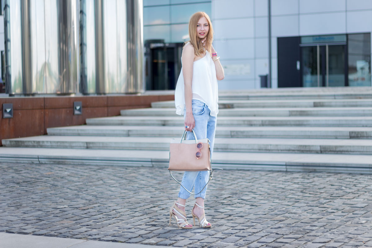 How to wear boyfriend jeans II How I met my outfit by Dana Lohmüller
