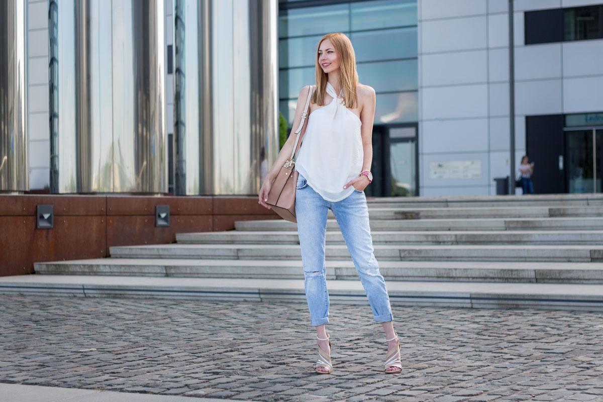How to wear boyfriend jeans II How I met my outfit by Dana Lohmüller