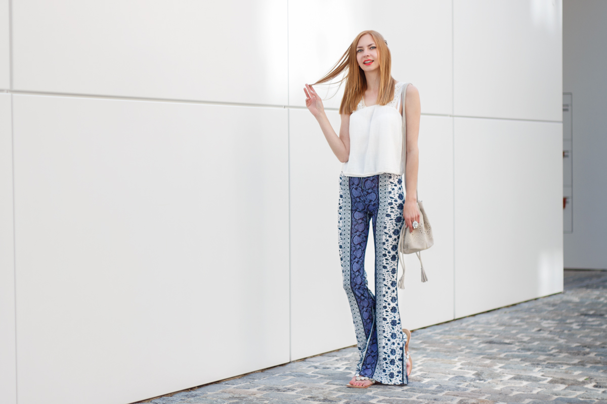 Flared Hippie Pants - The Skinny Friends of Palazzo Pants