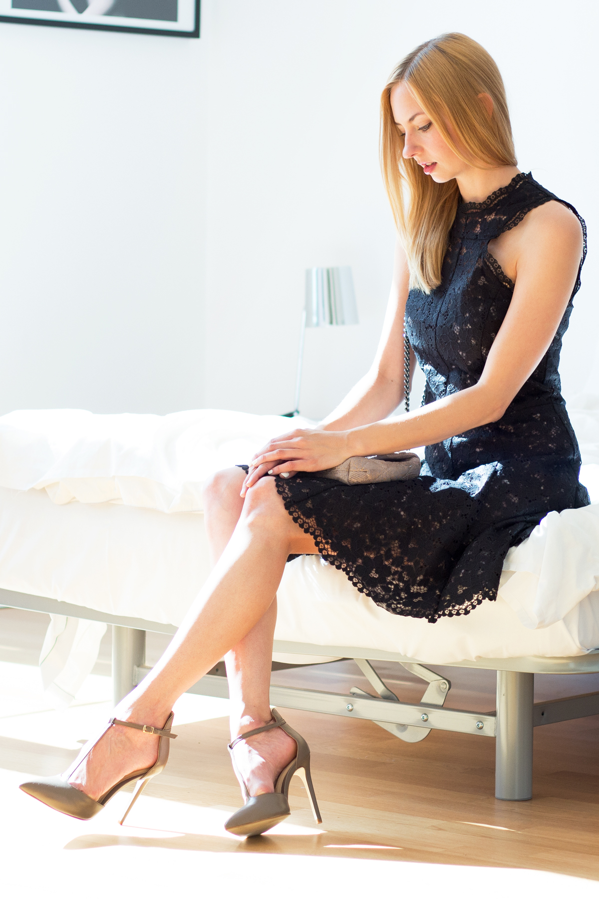 The Black Lace Dress - MBWFB