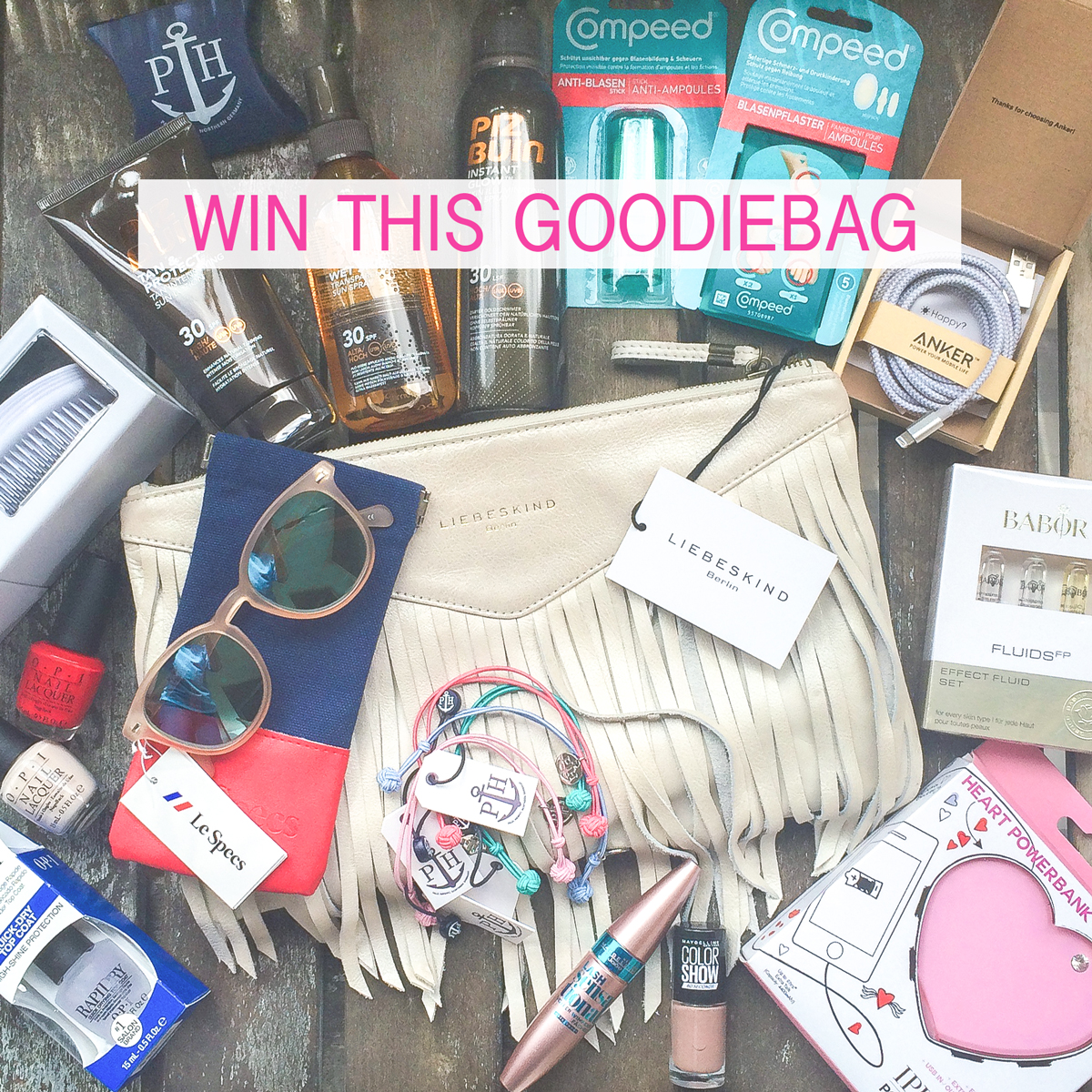 Win This XXL Goodie Bag + Instagram Shoutout II How I met my outfit II Gewinnspiel II photos: Dana Lohmüller