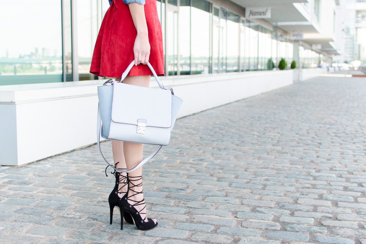 How To Style Strappy Heels I How I met my outfit
