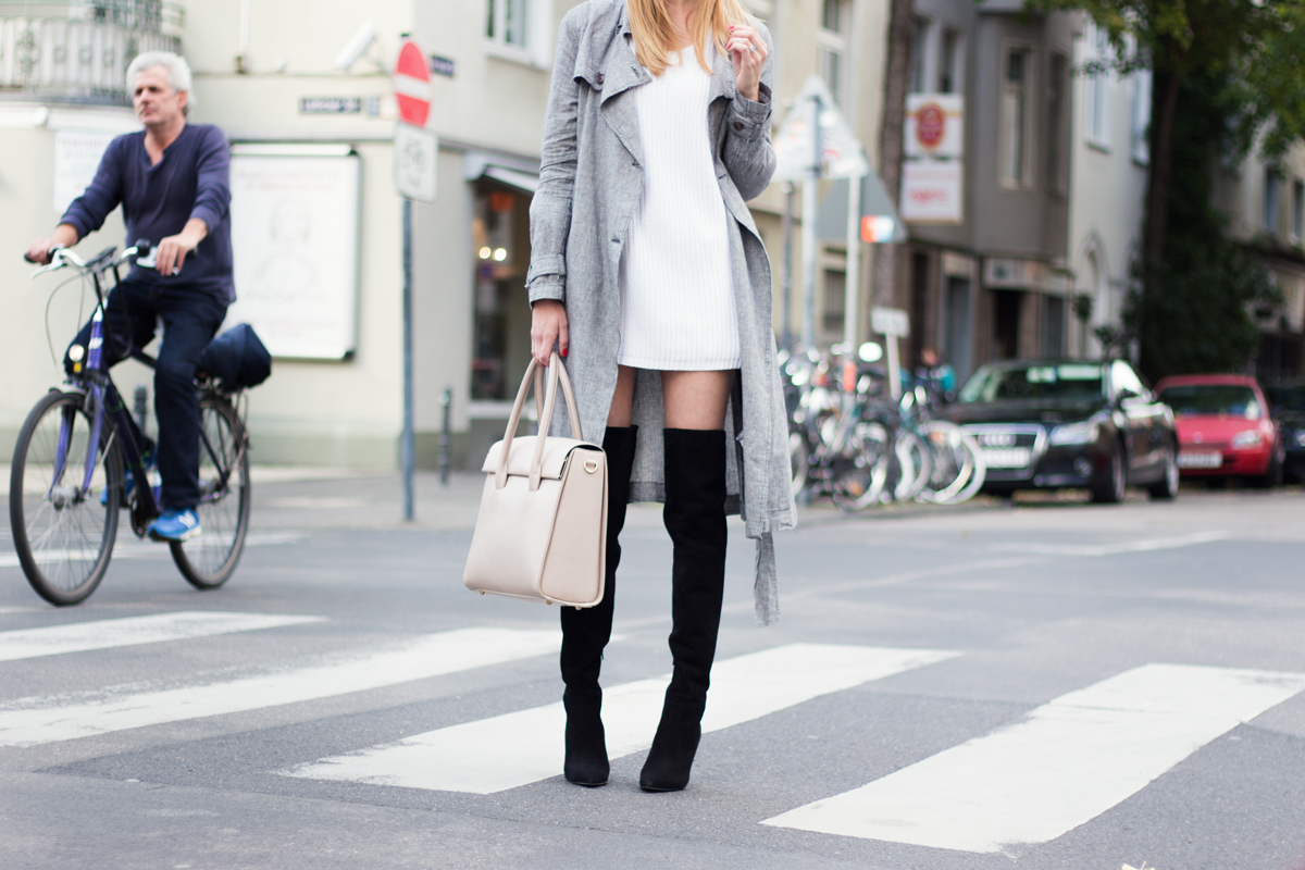 Over Knee Boots & Trench Coat II How I met my outfit