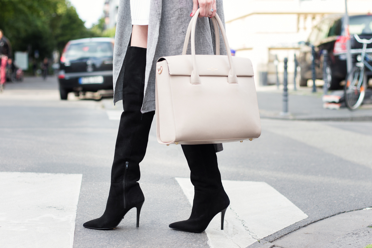 Over Knee Boots & Trench Coat I