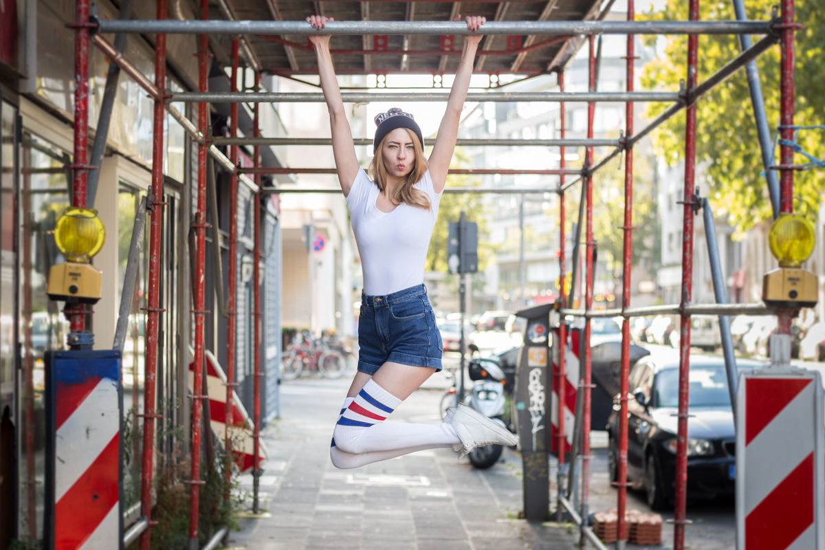 Sporty With American Apparel II How I met my outfit