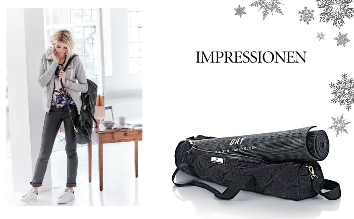 Blogger Adventskalender 2015 II How I met my outfit by Dana Lohmüller II photos: Impressionen Online Shop II Impressionen Versand Yoga Matte + Tasche