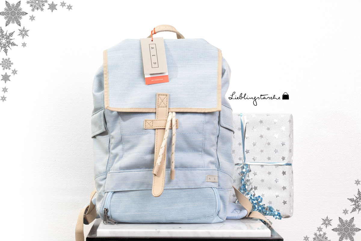 Blogger Adventskalender 2015 II How I met my outfit by Dana Lohmüller II AEP Rucksack via Lieblingstasche