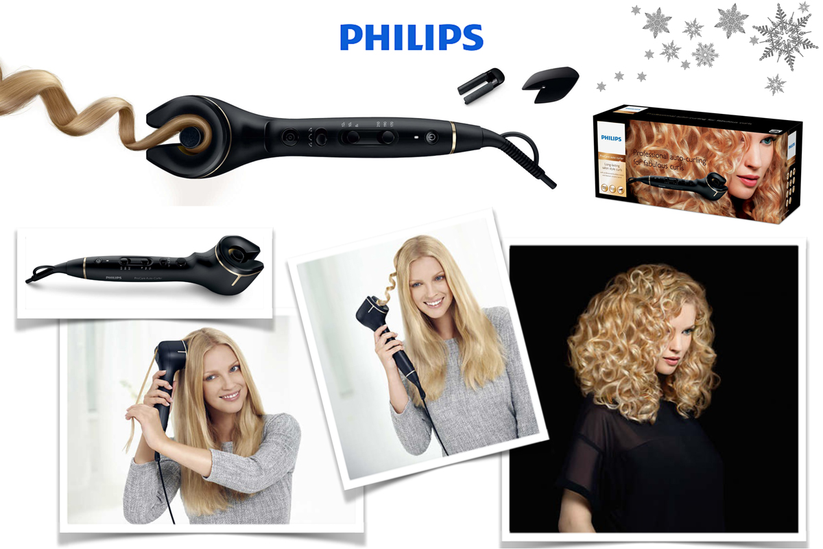 Blogger Adventskalender 2015 II How I met my outfit by Dana Lohmüller II photos: Philips Webseite II  Philips ProCare Auto Curler