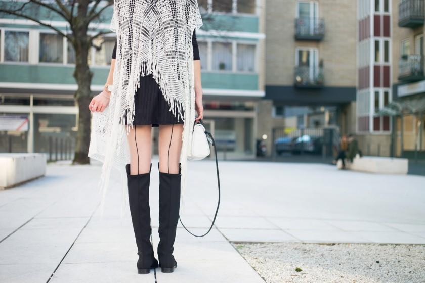 Crochet & Pinko I MBFW Berlin II How I met my outfit by Dana Lohmüller I photos: Benedikt Napolowski