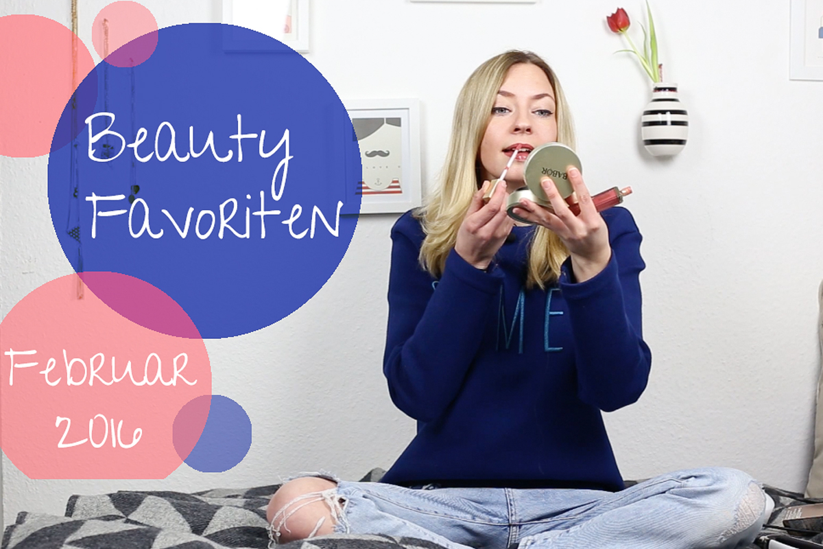Beauty Favoriten Februar 2016 + erstes YouTube Video II How I met my outfit by Dana Lohmüller