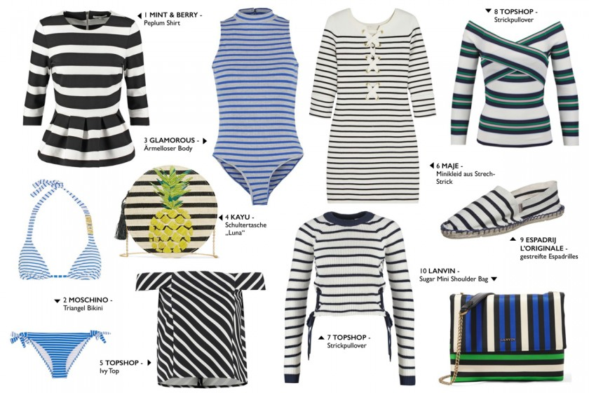 2016 Fashion Trends: Stripes Ii How I met my outfit by Dana Lohmüller