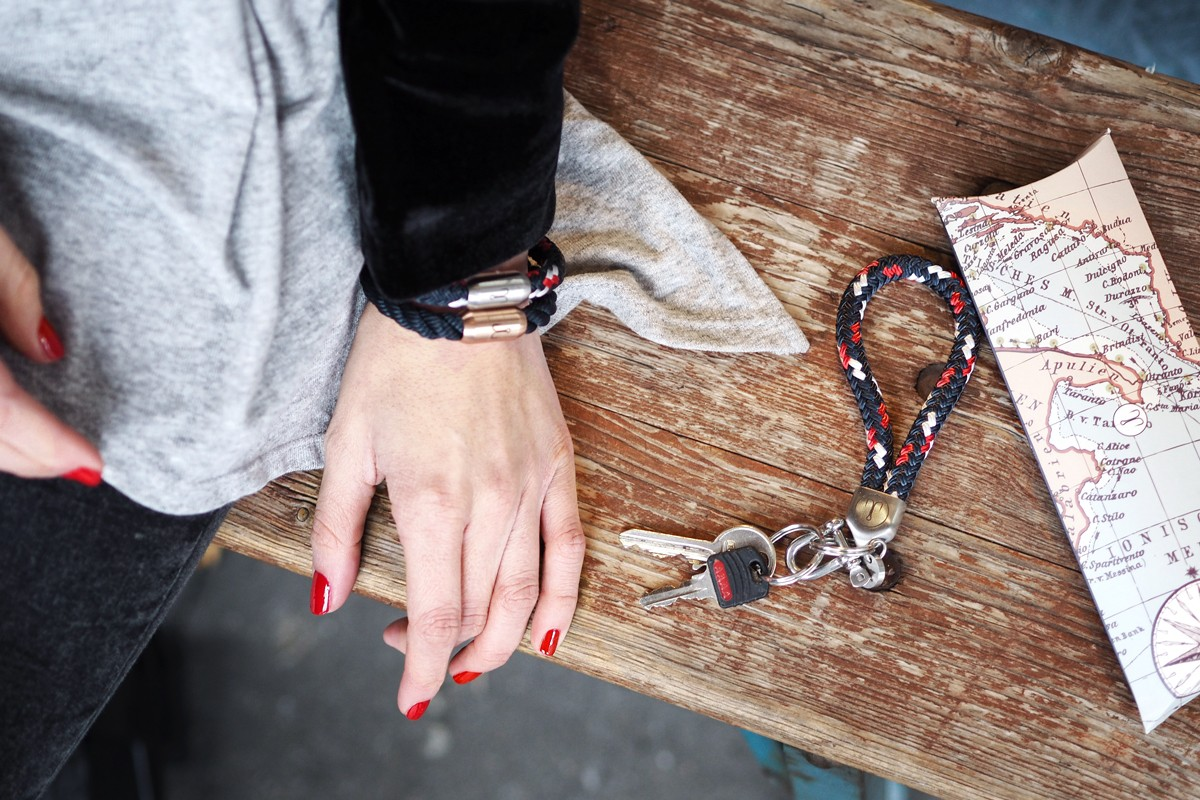 Day 4 | 5 x bracelet & keychain by Fischers Fritze | How I met my outfit by Dana Lohmüller | Blogger Adventskalender 2016