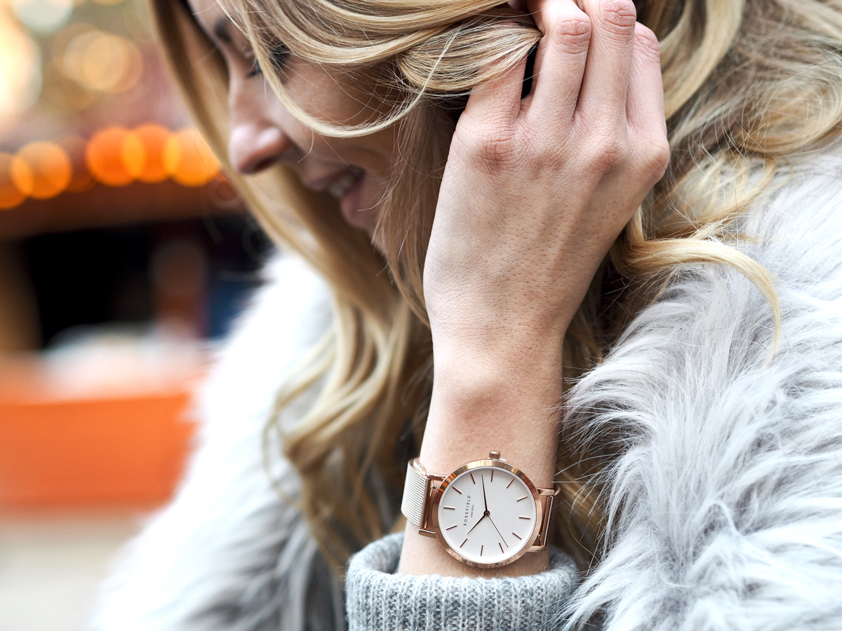 Day 14 | Rosefield watch by melovely | Blogger Adventskalender 2016 | How I met my outfit by Dana Lohmüller