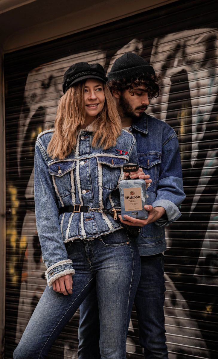Disaronno wears Diesel Limited Edition 2019